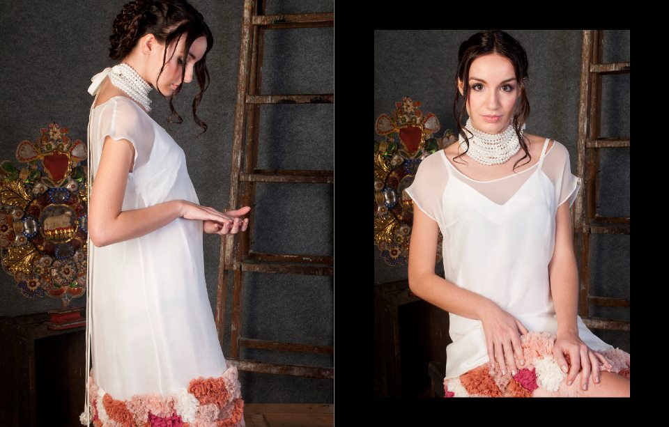 vestido novia Parnasse